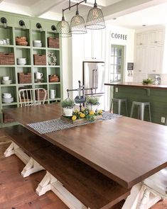 Green Kitchen from B