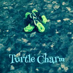 Turtle Charm made on fork