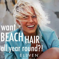 Want #beach hair all year long, but live in #snowy Michigan? No prob! Read this: