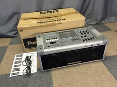 PANASONIC SY-PA100 PERSONAL MUSIC PA SYSTEM CD BOOMBOX GUITAR AMP RHYTHM MIXER #Panasonic Portable Speakers, Boombox, Guitar Amp, Computers, Audio, Technology, Electronics, Antique, Vintage