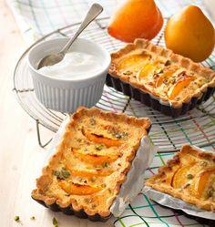 Photo de la recette : Tarte amandine aux abricots et pistaches