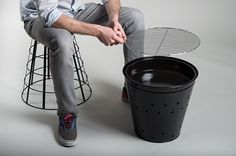 Tyndall Transportable Charcoal BBQ for BLOOMA on Behance