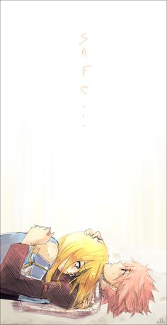Fairy Tail - Natsu and Lucy - Safe