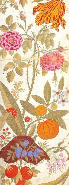 Leman 1706-07-- Art Quill Studio: Silk Designs of the 18th Century - Part IArtClothMarie-Therese Wisniowski