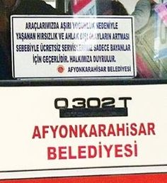 Afyon'da şimdi de 'kadına özel otobüs' http://www.hurriyet.com.tr/gundem/22790427.asp