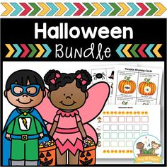 A bundle of 4 of my most popular Halloween resources, including math and literacy small group activities! Make learning fun with these hands-on resources! Halloween Theme Preschool, Halloween Math, Halloween Themes, Halloween Pumpkins, Preschool Printables, Preschool Literacy, Pre K Pages, Small Group Activities, Sequencing Activities