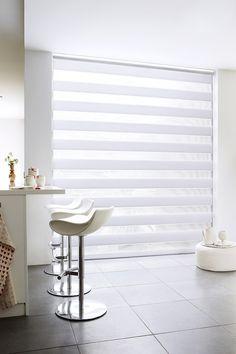 Duo rolgordijn | Timmermans Indoor Design http://www.timmermansindoordesign.nl