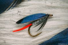 Fly Tying Archive • Butcher is a famous wet fly that was originally called Moon's fly.