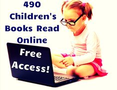A free resource featuring 450 children's books read online . Books read books for free Free Books To Read, Books To Read Online, Reading Online, Kindergarten Reading, Kids Reading, Teaching Reading, Teaching Ideas, Reading Resources, Book Activities
