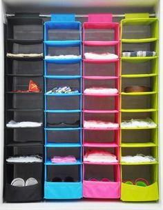 Washable Hanging Closet Organizer Storage Bag