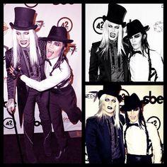 Celebrities In Halloween Costumes- Adam Lambert as a vampire