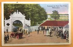 1915 WISCONSIN STATE FAIR ENTRANCE