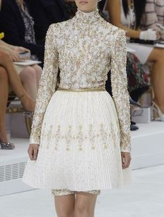chanel fall 2014 couture details dress to impress pinterest mode couture und haute couture. Black Bedroom Furniture Sets. Home Design Ideas