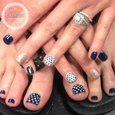 15 Ways To Coordinate Your Mani And Your Pedi