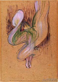 Henri+de+Toulouse-Lautrec+-+Loïe+Fuller+aux+Folies+Bergère