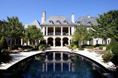 Private Residence - Formal French - Traditional - Exterior - Dallas - Fusch Architects, Inc.