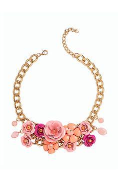 Flower Bouquet Necklace - Talbots