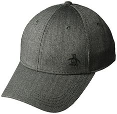 2793fe32b10e6 Original Penguin Men s Herringbone A-Flex Baseball Cap