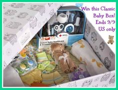 Baby Box Company – Classic Box Giveaway!! (ends 9/9)  One lucky reader will win a Classic Baby Box ($100 value)!