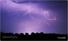 Marengo County Lightening before the Storm July 2015.  Photographer credit: Johnny Autry.  Pinner used PhotoGrid to add photographers name to photo.