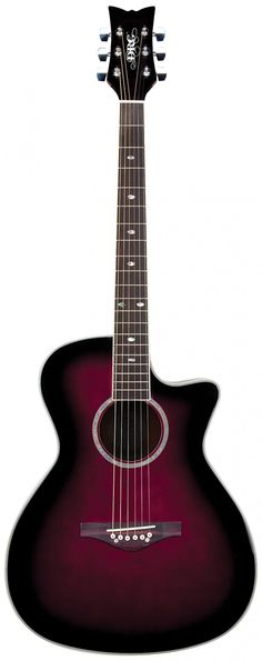 Wildwood Artist Deluxe Acoustic-Electric | Daisy Rock Guitars (for girls and people with small hands omg i need)