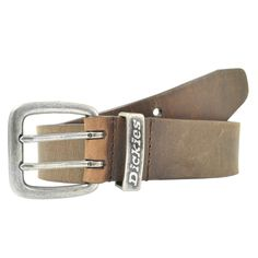 Dickies. A great brown belt ads class and style to any outfit!