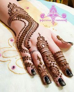 Bridal Mehndi On Hands Art, Ideas, Nature, HomeMore Pins Like This At FOSTERGINGER @ Pinterest