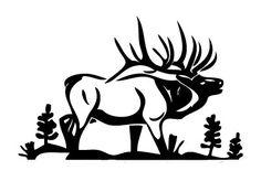 Deer Hunting Logos | deer hunting decal sticker 06