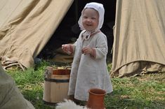 I can never get enough of Viking babies.