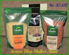 Mulher Atual : Sorteio kit de alimentos naturais!