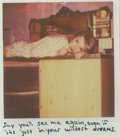 Taylor Swift Polaroid 51 - Wildest Dreams #1989