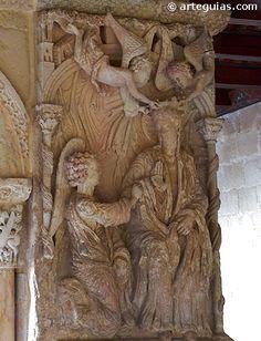 Coronación de la Virgen. Monasterio de Santo Domingo de Silos, segundo taller