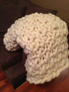 Super Soft Chunky Blanket by lisa.friar.5