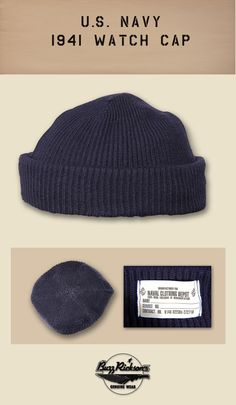 72f0cac6a74 Navy Watch Cap My grandfather actually had one of these issued to him.