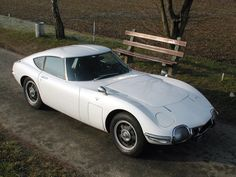 1967 Toyota 2000GT.  they should think on bringing this one back