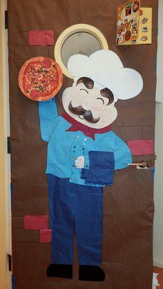 Chef & Pin by Zoey Rob on Classroom Door Decoration | Classroom Door ...