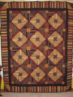 Love this quilt!  Irish Stars