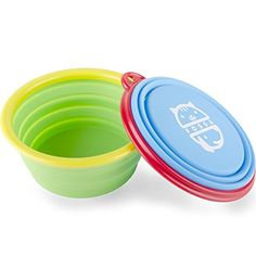 Travel Dog Bowls By Fossa Collapsible Portable Pet Food  Water Bowls I Size 2 X 15 Cups -- Continue to the product at the image link.