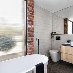 C.Kairouz Architects (@c.kairouz.architects) • Instagram photos and videos  Residential Architecture design #architecture #design #architect #bathroomdesign #exposedbrick #richmond Architecture Design, Residential Architecture, Exposed Brick, Photos, Instagram, Architecture Layout, Architecture Illustrations, Architecture Drawings, Building Designs