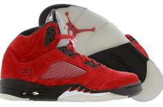90d0c0b21ad7 Air Jordan V 5 Retro DMP Split Varsity Red Black Men Shoes Nike Air Jordan 5