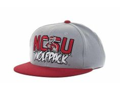 NC State Wolfpack NCAA TOW Quake Snap Snapback Hat New #TopoftheWorld #NCStateWolfpack