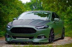 Ford Fusion Custom, Wide Body, Body Mods, Ford Focus, Ford Trucks, Supercar, Car Show, Custom Cars, Cool Cars