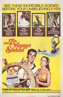 The Voyage of Sinbad 1958 Poster - Products - Yorgo Angelopoulos Movie Posters For Sale, Cinema Posters, Original Movie Posters, Film Posters, Sinbad The Sailor, Adventure Movies, Fantasy Movies, Anubis, Classic Movies