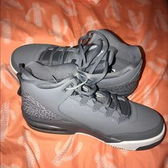 watch 4cb6b 43816 Jordan Shoes   New Flight Jordan Shoes Flight Jordans   Color  Gray White    Size  6.5b