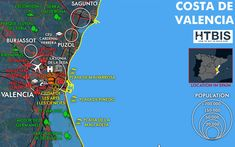 Costa de Valencia is the perfect area to enjoy your time: it is the third Spanish city, a good transport system, an international airport and many beaches.