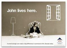 Homelessness Australia by Patricia Saito, via Behance