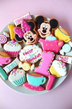 Mickey&Minnie cookies