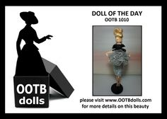 06.10.14 - Introducing the next Doll of the Day, OOTB 1010, one of the first dolls that were clearly inspired by haute couture  high fashion that were created by the team of OOTB Dolls! This doll will also be debuting at the NBDCC Nashville! Enjoy!  Please check on our website for additional details on this beauty!  www.ootbdolls.com
