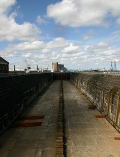 Where the Titanic was built Belfast Ireland. Been to this site...surreal!