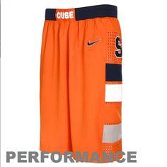 Nike Syracuse Orange Orange Aerographic Performance Twill Basketball Shorts